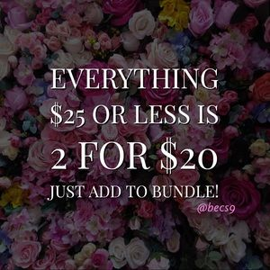 🌸Limited Time - 2 for $20🌸